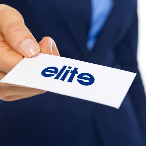 Elite courtesy card